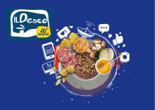 Logo Desco con generi alimentari